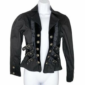 Funhouse NYC Steampunk Buckle Jacket